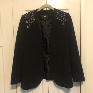 H&M Studded Blazer